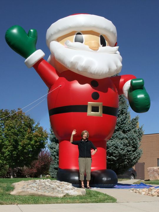 Santa with Legs - Holiday Christmas27104