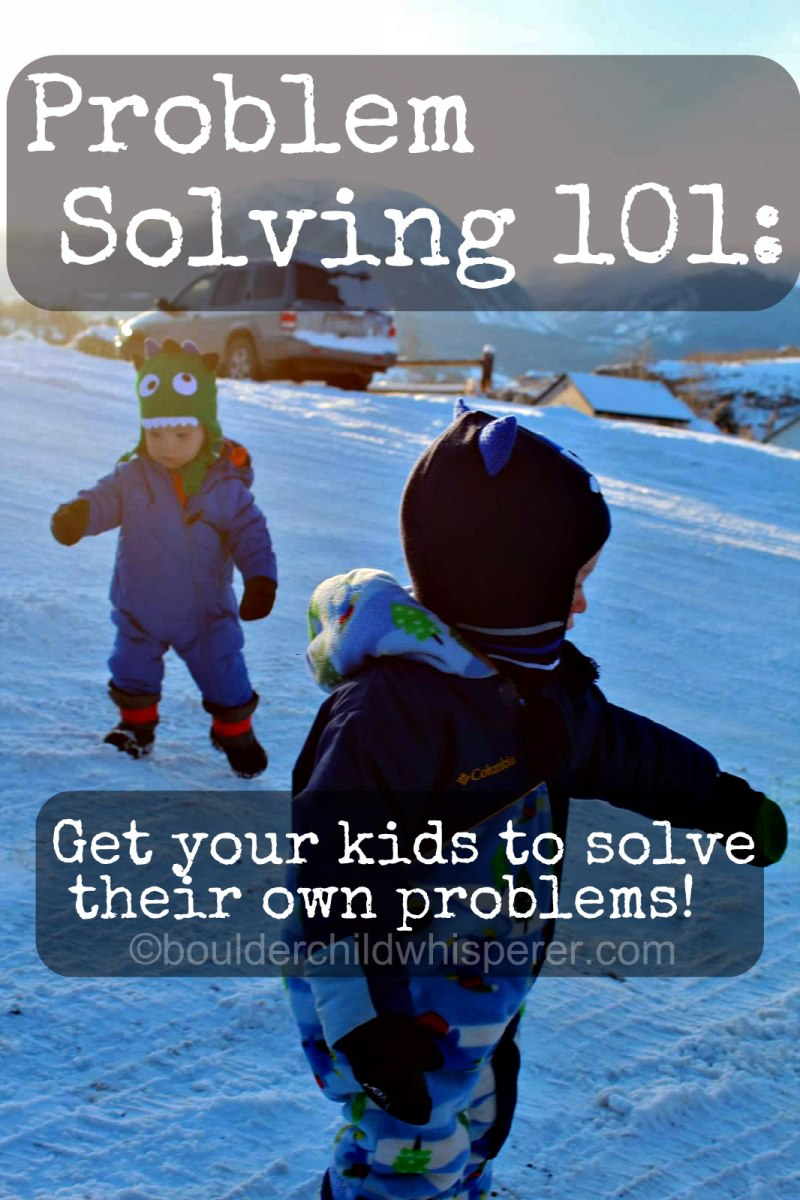 Simplify your life: teach problem solving skills!