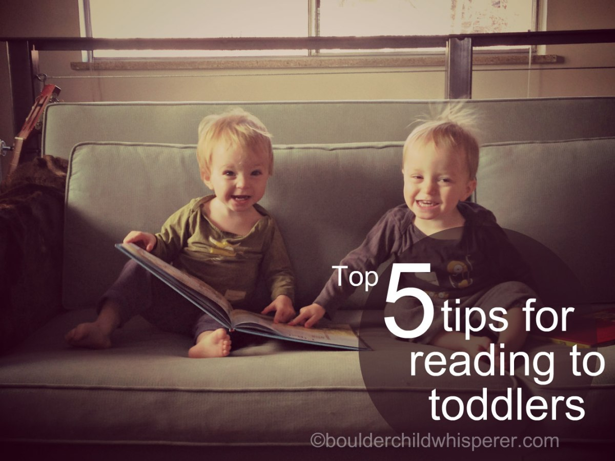 Top five tips for reading bedtime stories to toddlers