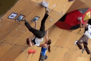 Daniel Woods Wins Bouldering World Cup 2010