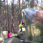 Ryan Silven – bouldering in Fontainebleau