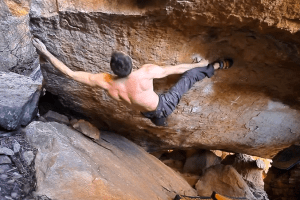 James Kassay Bouldering in the Rocklands 2013