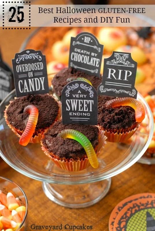 25 Best Gluten-Free Halloween Recipes and DIY Fun - Easy Recipes