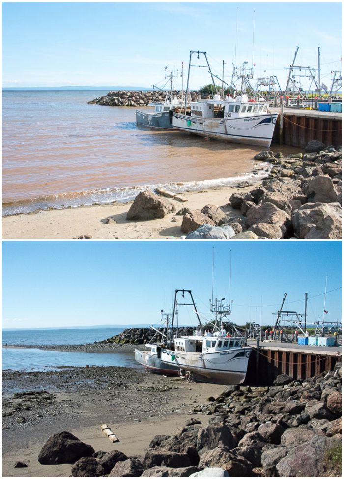 Alma, New Brunswick Exploring the Bay of Fundy Tides