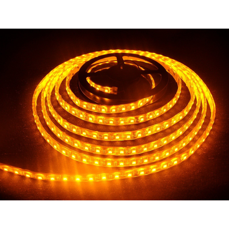 Tube Led Couleur Bandeau Led Orange étanche Smd 5050