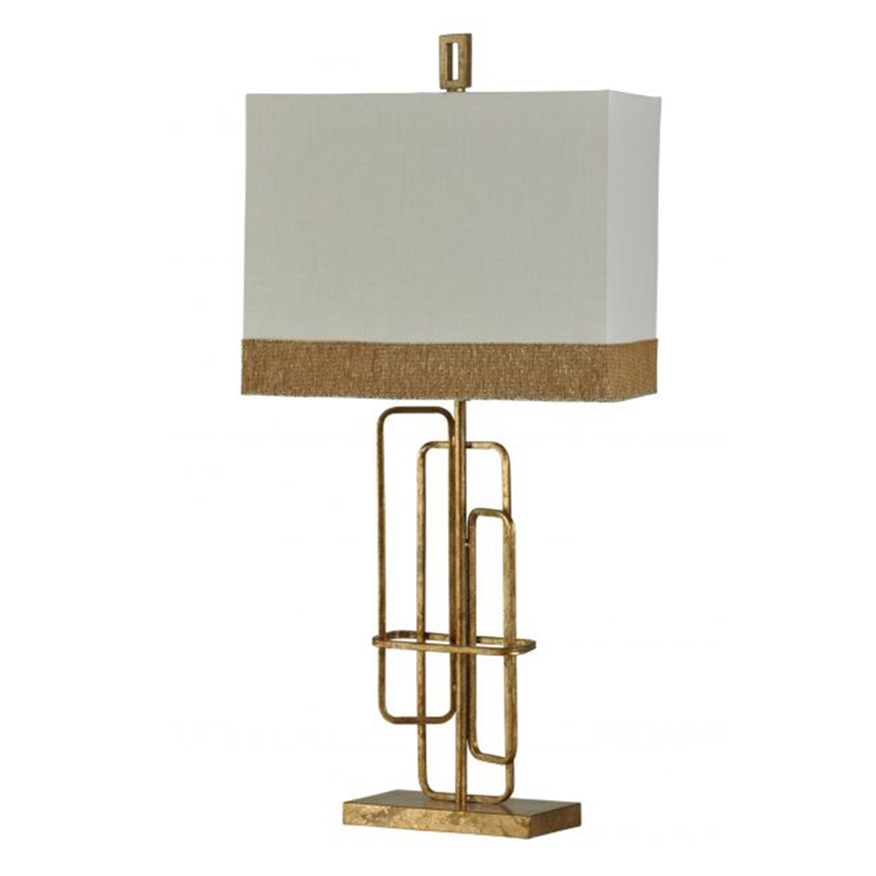 Vintage Table Lamps Vintage Gold Metal Table Lamp