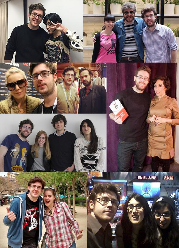 Fotos con personas del 2014