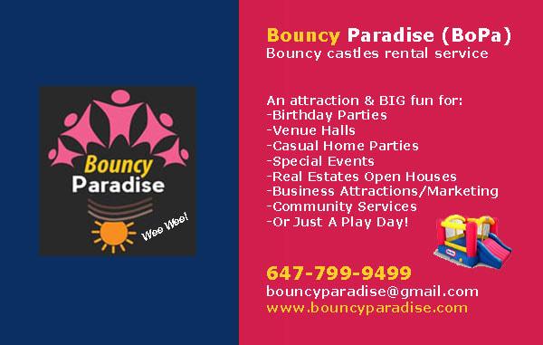 bouncy paradise (bopa) - Home