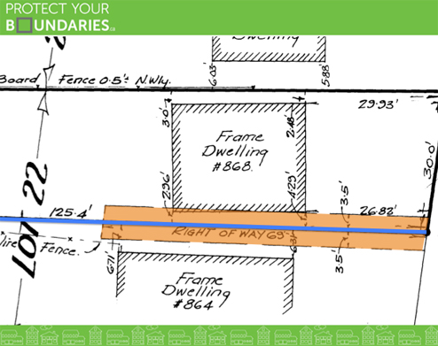 an electrical line easement is an example of