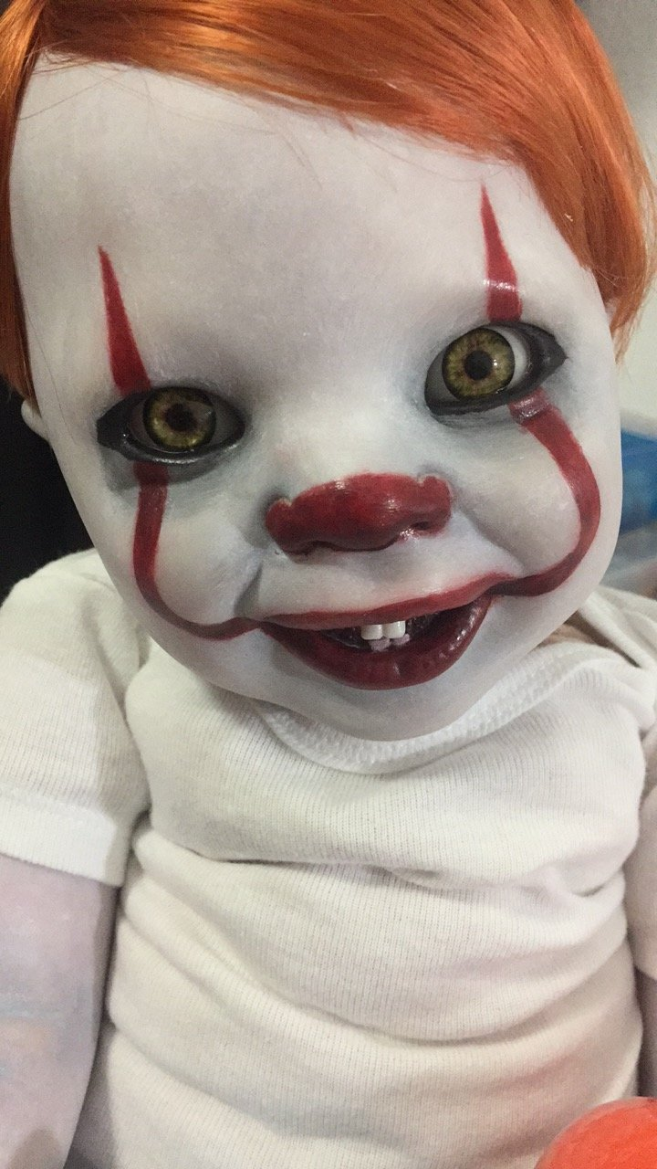 Baby Dolls Pics Baby Pennywise Caution Alternative Doll Reborn