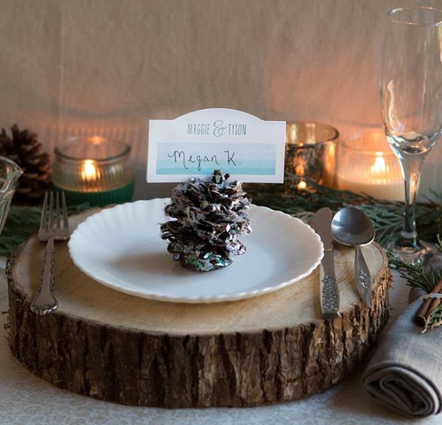 Pine Cone Wedding