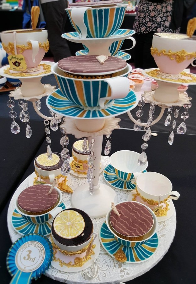 Wedding Cake Inspiration - Tea Cups