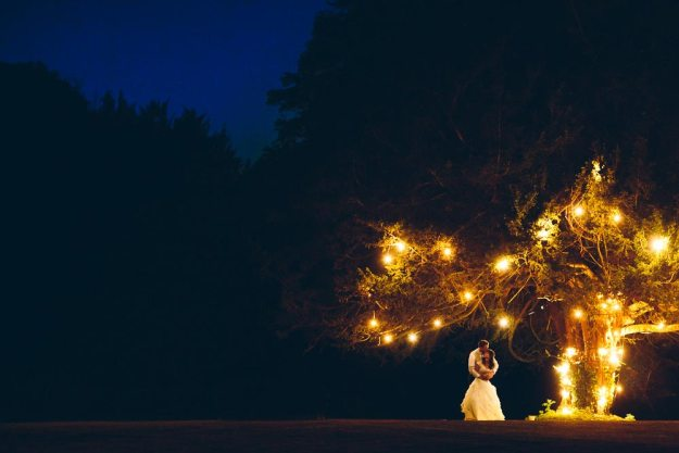 Wedding Videographer - Night Lights