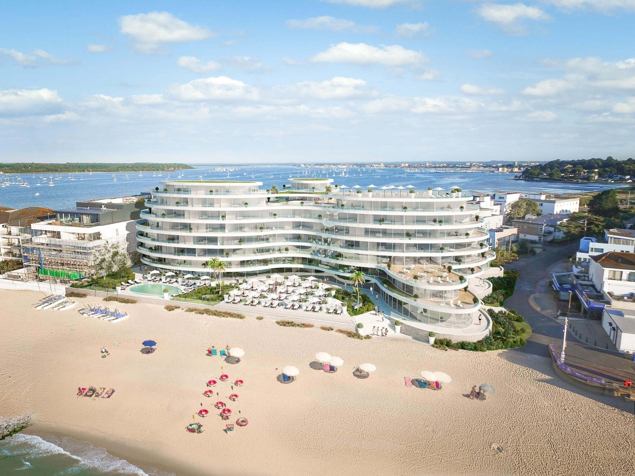 Bed And Breakfast Poole Harbour Richard Carr S 200m Plan For Landmark Tower And Hotels In
