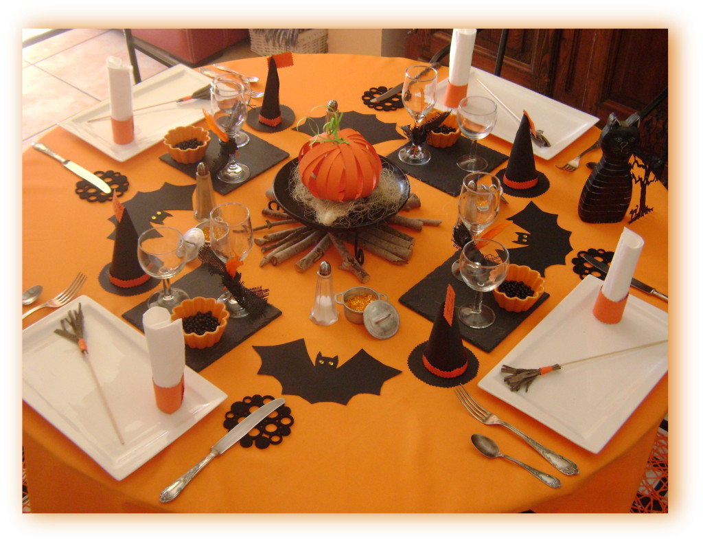 Decoration Halloween Facile A Faire Deco Table Halloween Faire Soi Meme Visuel 1