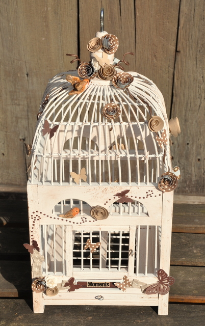 Creation De Decoration Cage Oiseaux Decorative Ancienne