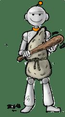 BdG Robot préhistorique Cro-Magnon light