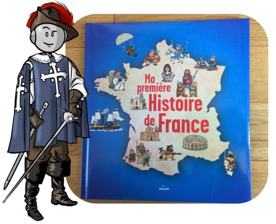 Ma premiere histoire de France Milan BDG