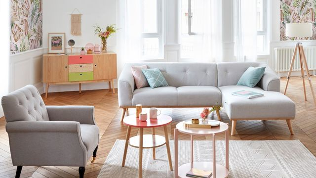 Meuble Tv Roulettes Conforama Couleurs Salon Style Scandinave - Boutique-gain-de-place.fr