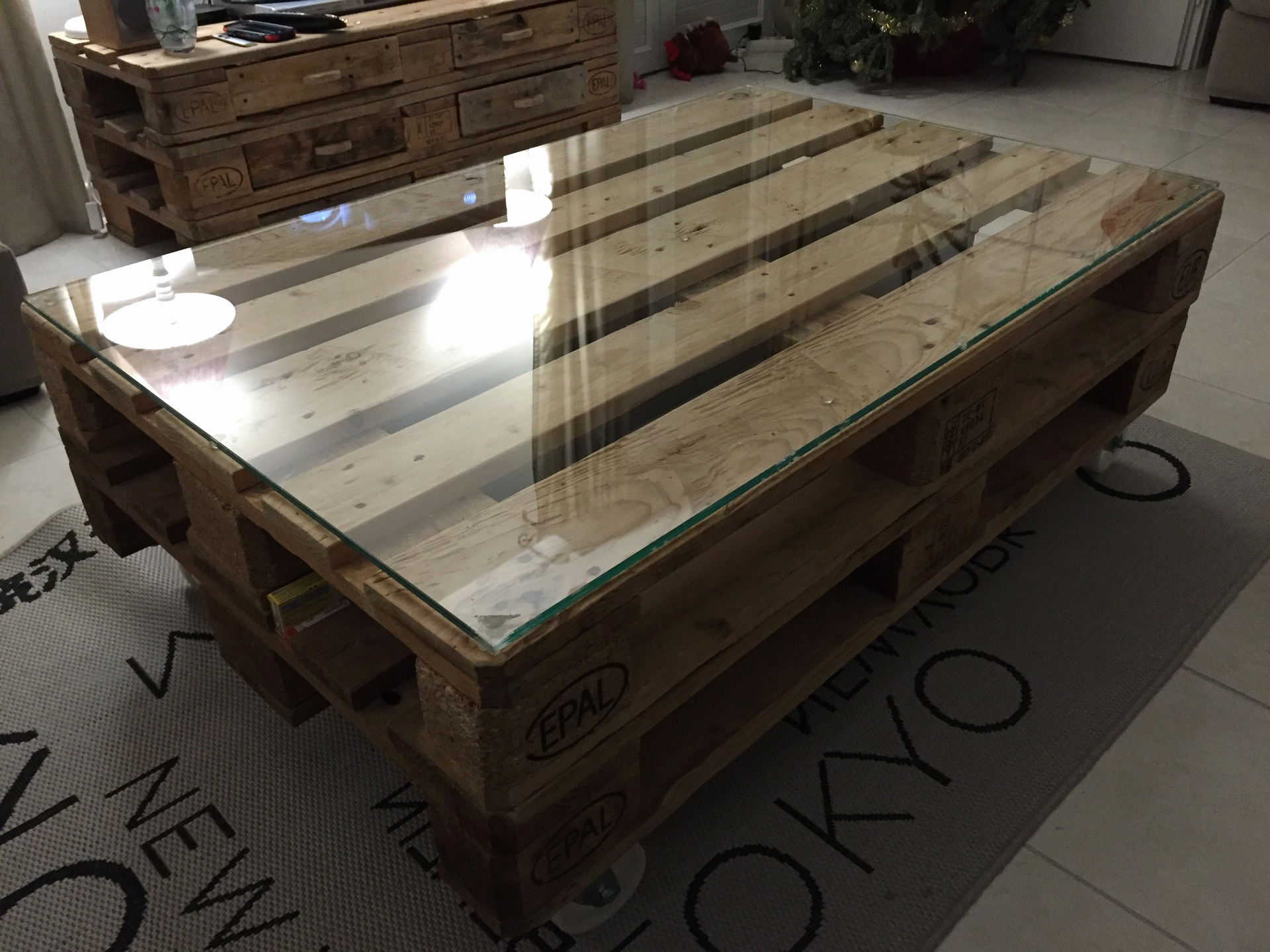 Meuble Palette Industriel Meuble Table Basse Palette Boutique Gain De Place Fr