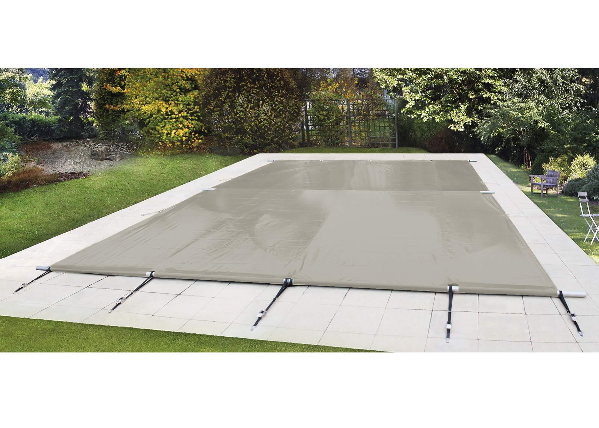 Fixation Bache Piscine Sur Terrasse Bois Coverwat Piscines Waterair