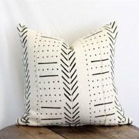 Mudcloth Pillow - Khari