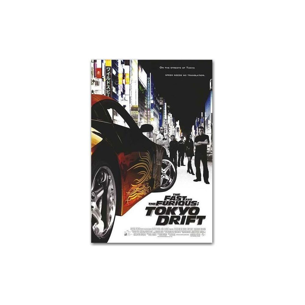 Möbel Wohnen The Fast And The Furious Tokyo Drift 11x17 Movie Poster Bilder Drucke Sg Com Jo