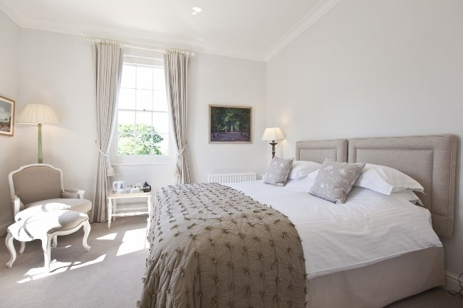 Pentillie Castle Boutique Bed and Breakfast, Cornwall - Bedroom