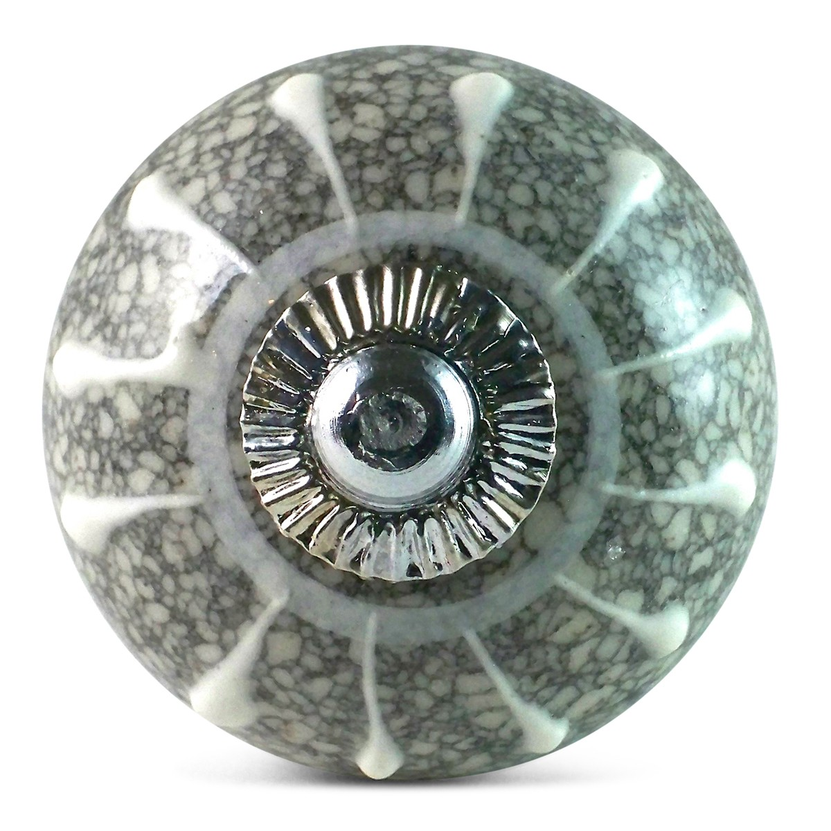 Porcelain Pumpkin Knobs Grey And White Star Marble Knob 2,90 € Cement Tile - Boutonsdemeubles.com