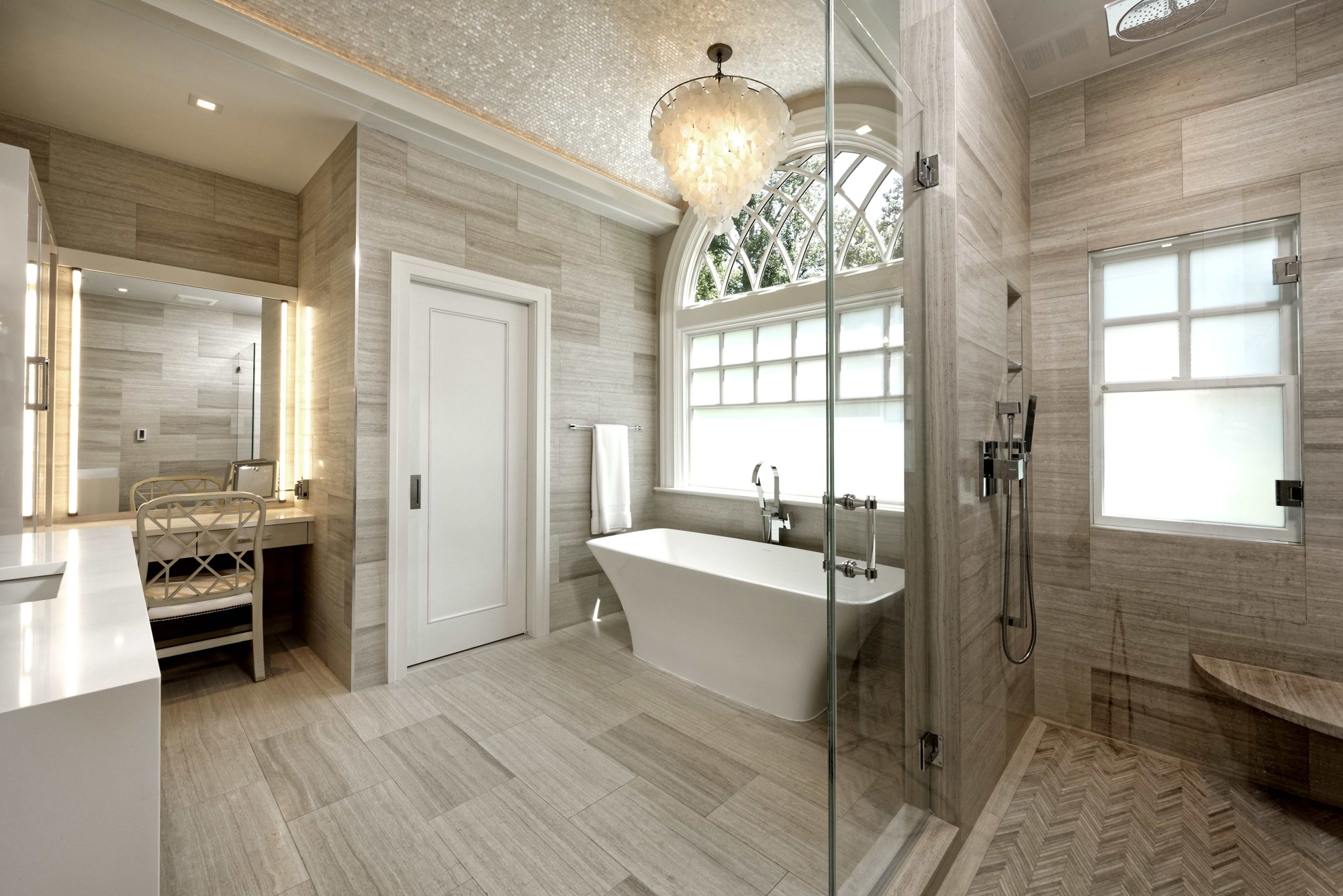 Modern Luxury Kitchen Master Bath And Basement Remodel In Mclean