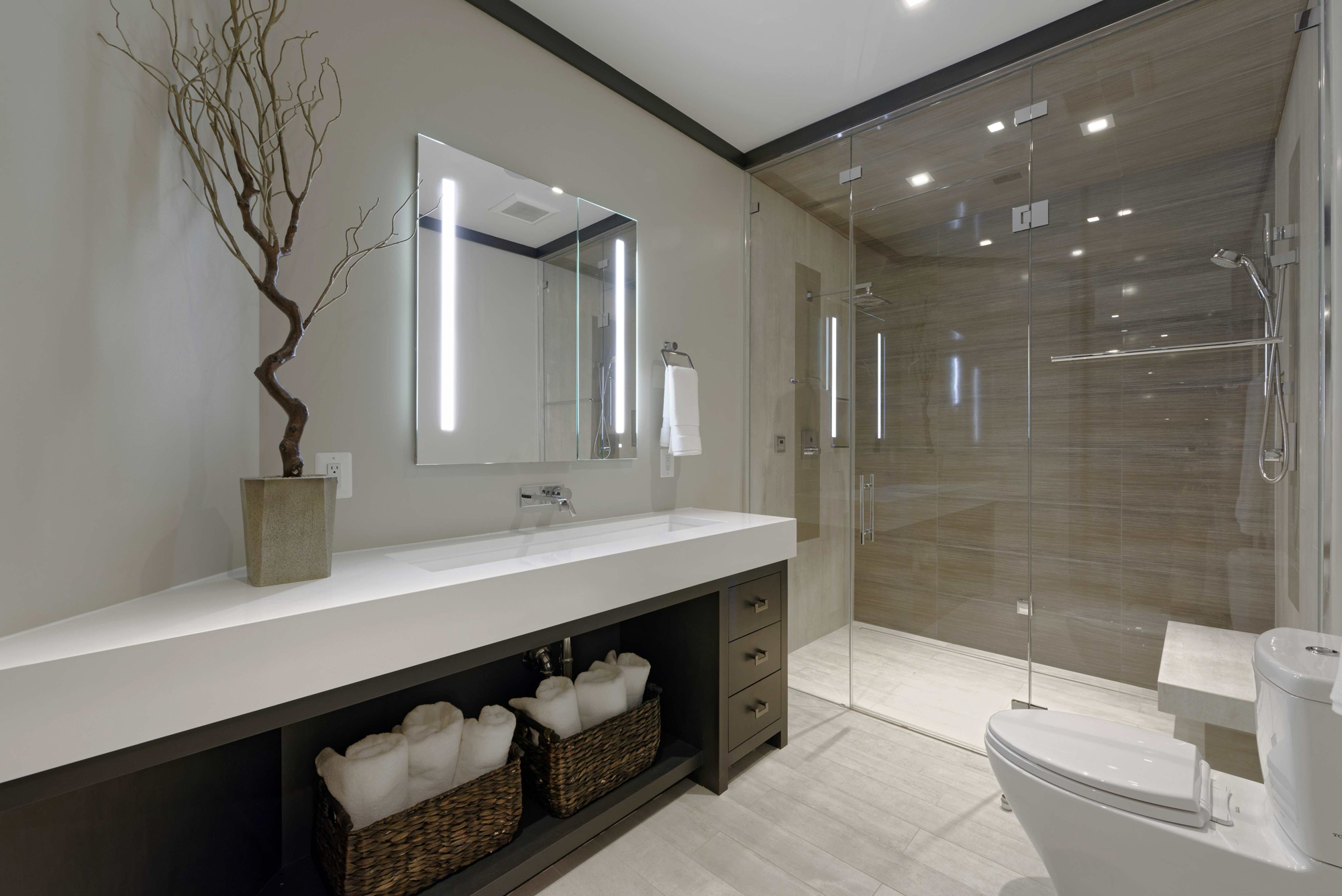 Luxury Modern Master Bathroom Designs Image Of Bathroom And Closet