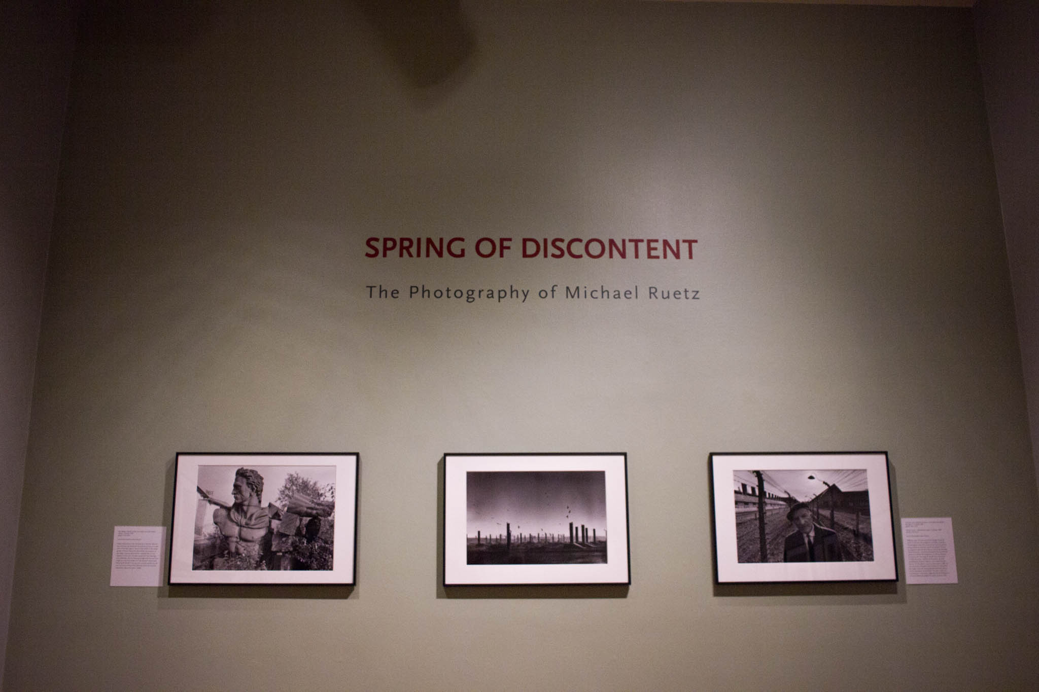 Photography Exhibition Spring Of Discontent Student Curated Exhibition Memorializes 1968