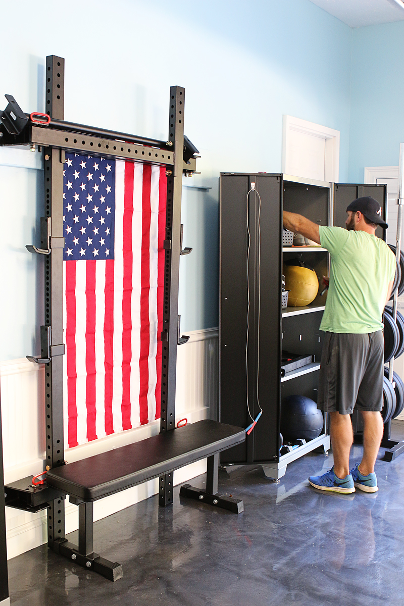 Garage Gym Reviews Diy Platform Creating An At Home Gym Bower Power