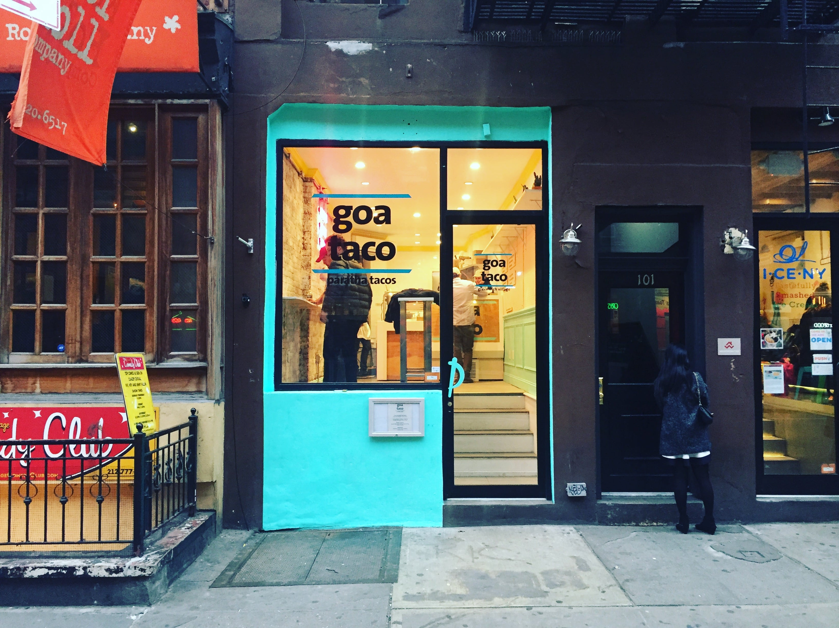 Les Location Goa Taco Expands From The Les With New Macdougal Street Location