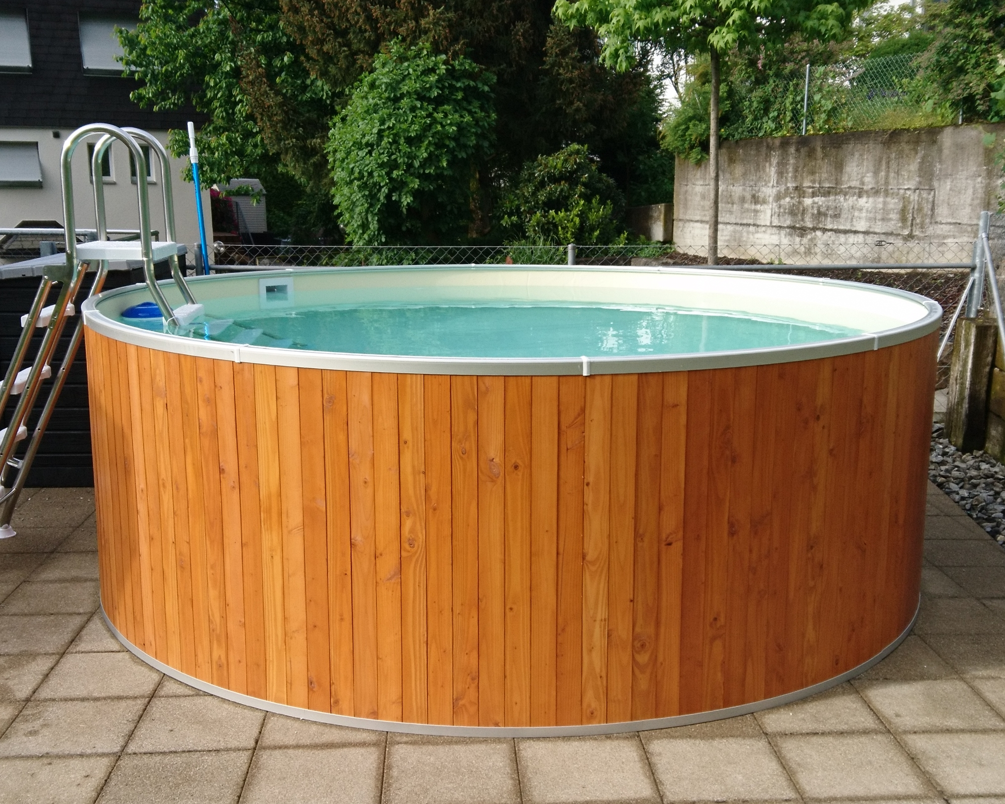 Future Pool Abdeckung Protect Holzpool Fun Wood Ø 4 00m Höhe 120cm