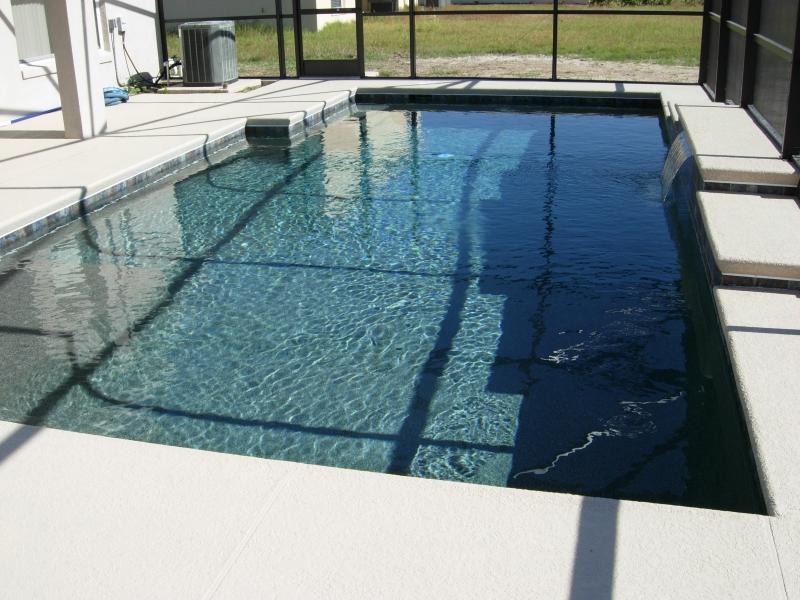 Contemporary Pool Design Orlando Geometric Pool Lake Nona