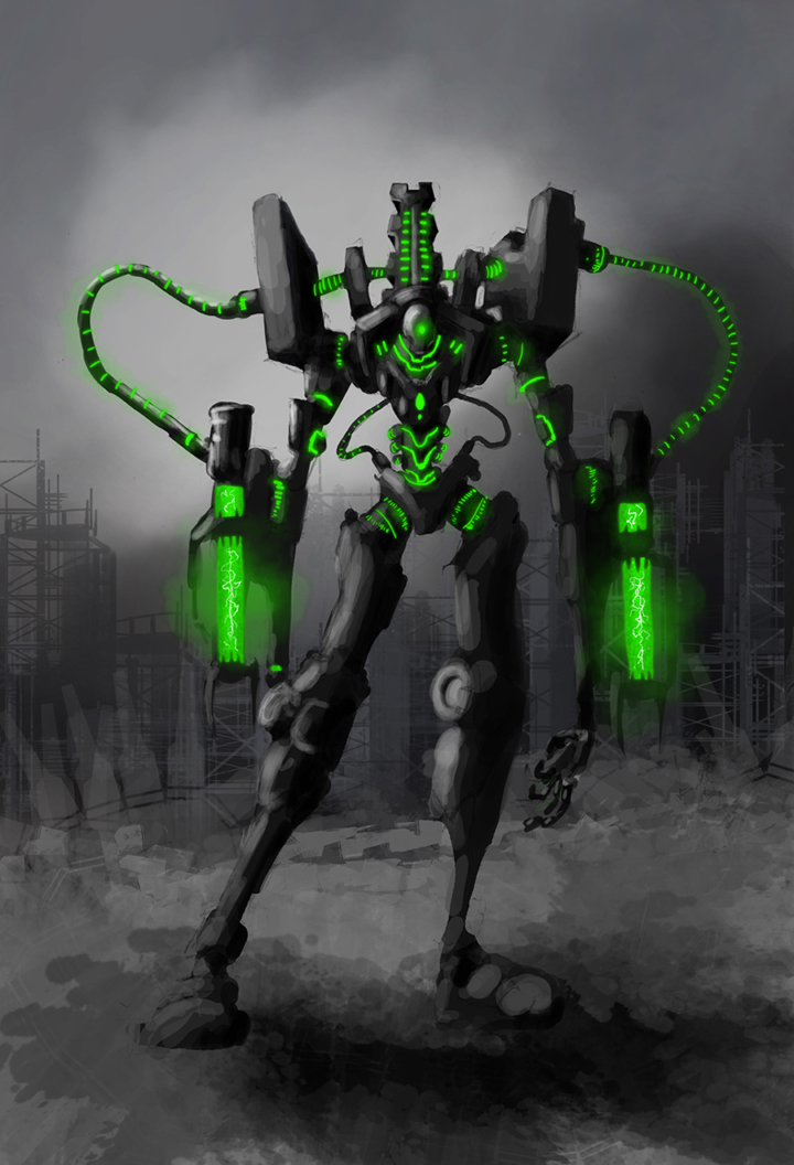 Wall Art 3d Necron Eve Titan – Ontabletop – Home Of Beasts Of War