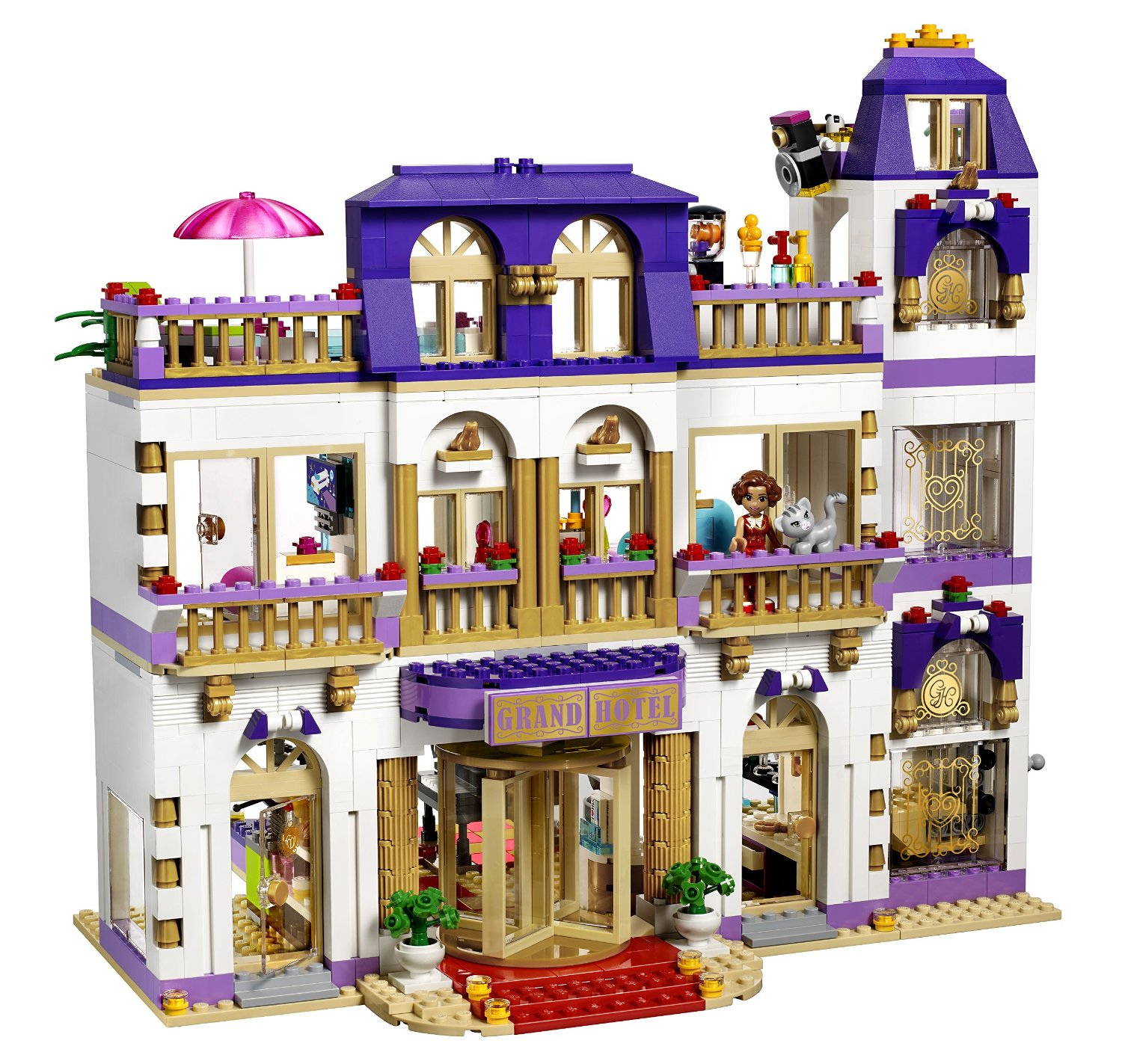 Lego Friends La Piscina Lego Friends 41101 Il Grand Hotel Di Heartlake Ebay
