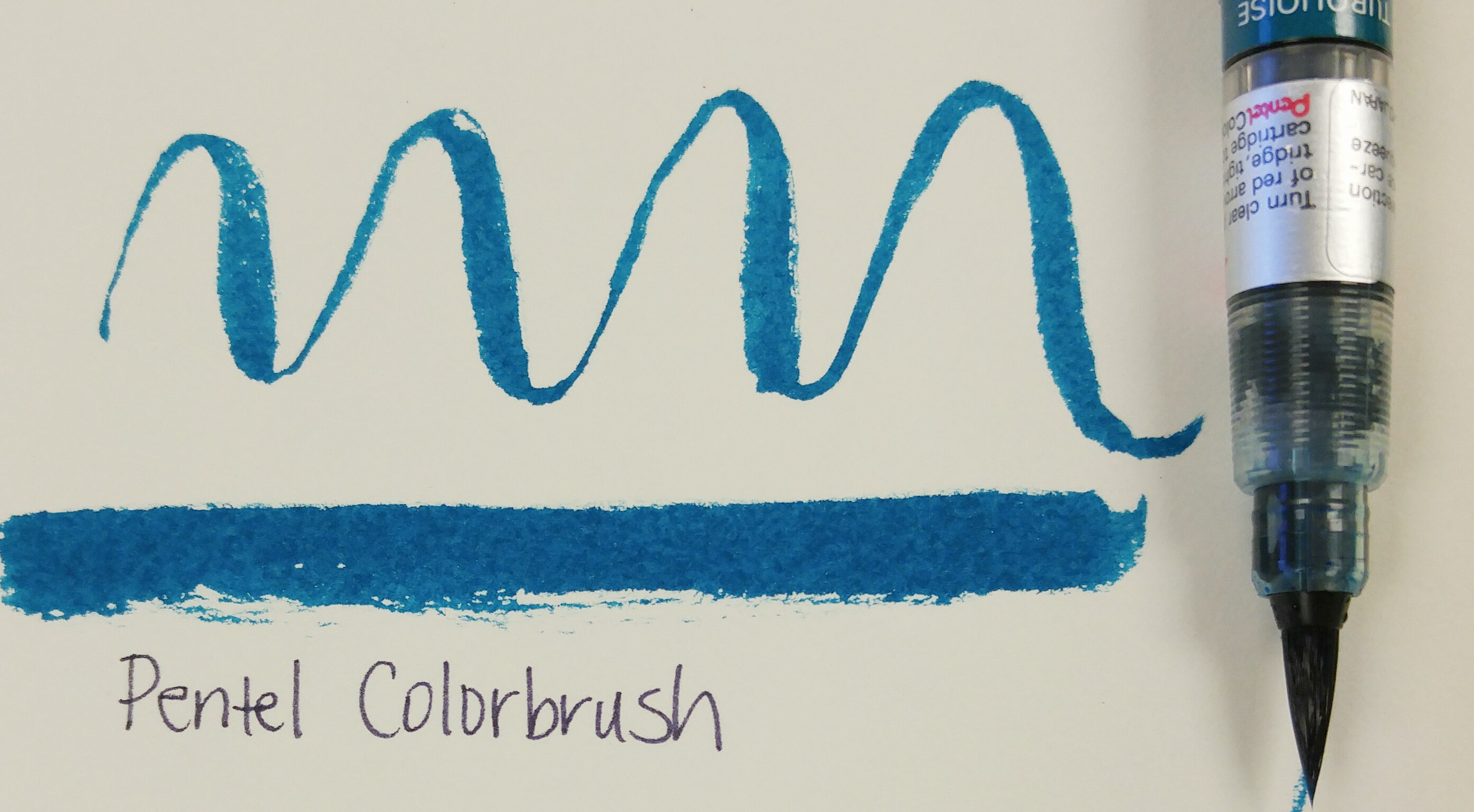 Colored Water Brush Brush Pen Breakdown Calligraphy And Lettering Blog
