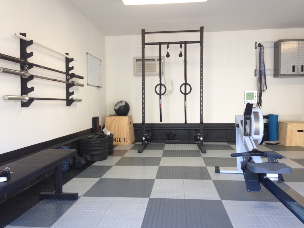 Garage Gym Reviews Diy Platform Crossfit Garage Gym Awesome Home Setups Ideas