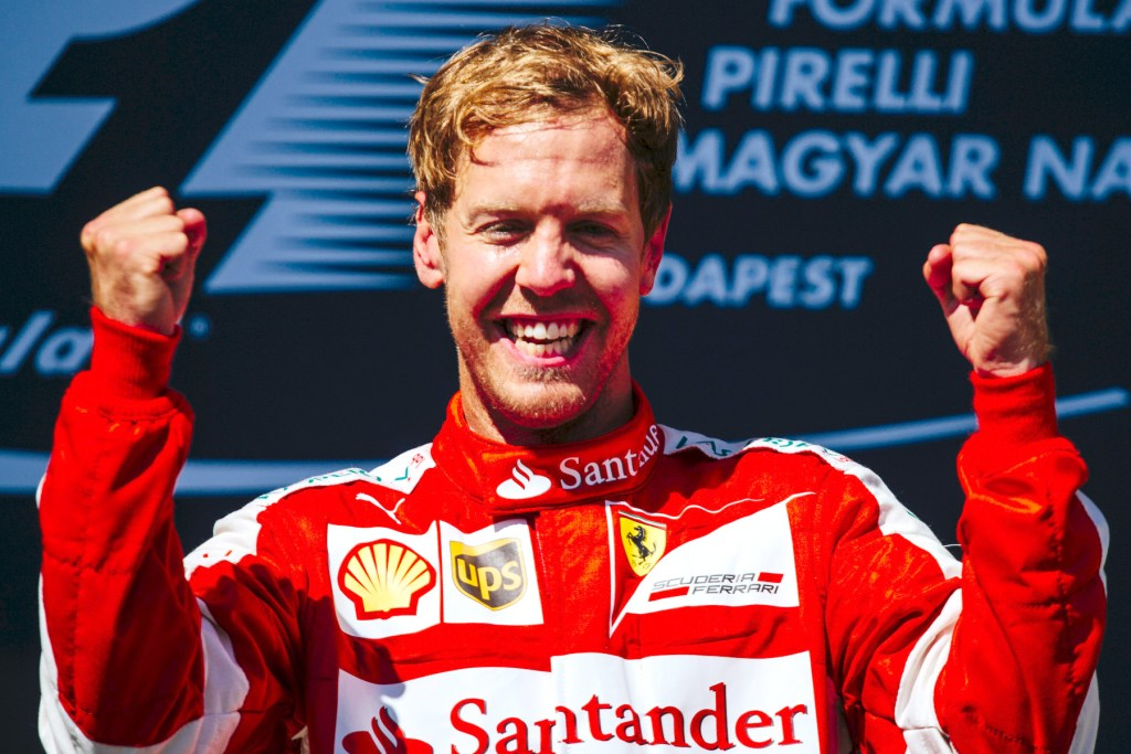 Vettel takes cool win as Mercedes wilts in Budapest