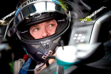 Rosberg makes it five poles from five in Brazil