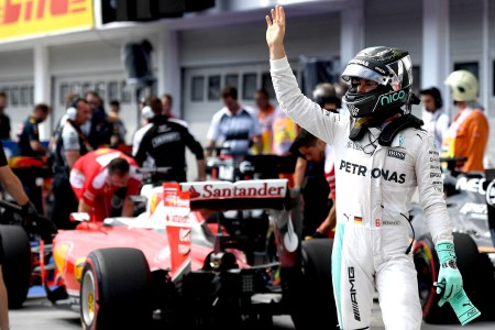 Rosberg masters marathon qualifying in Hungary