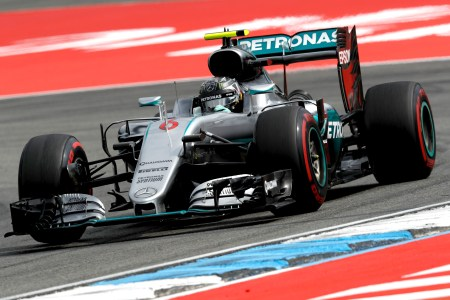 Rosberg nails German GP qualifying after electronics scare