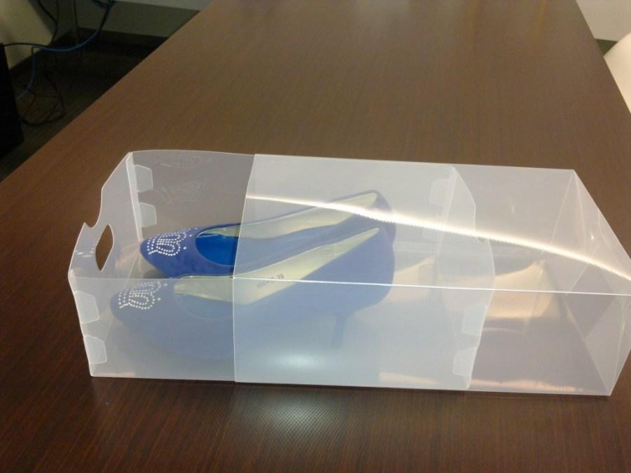Box Sepatu Transparan Kotak Sepatu Transparan Murah