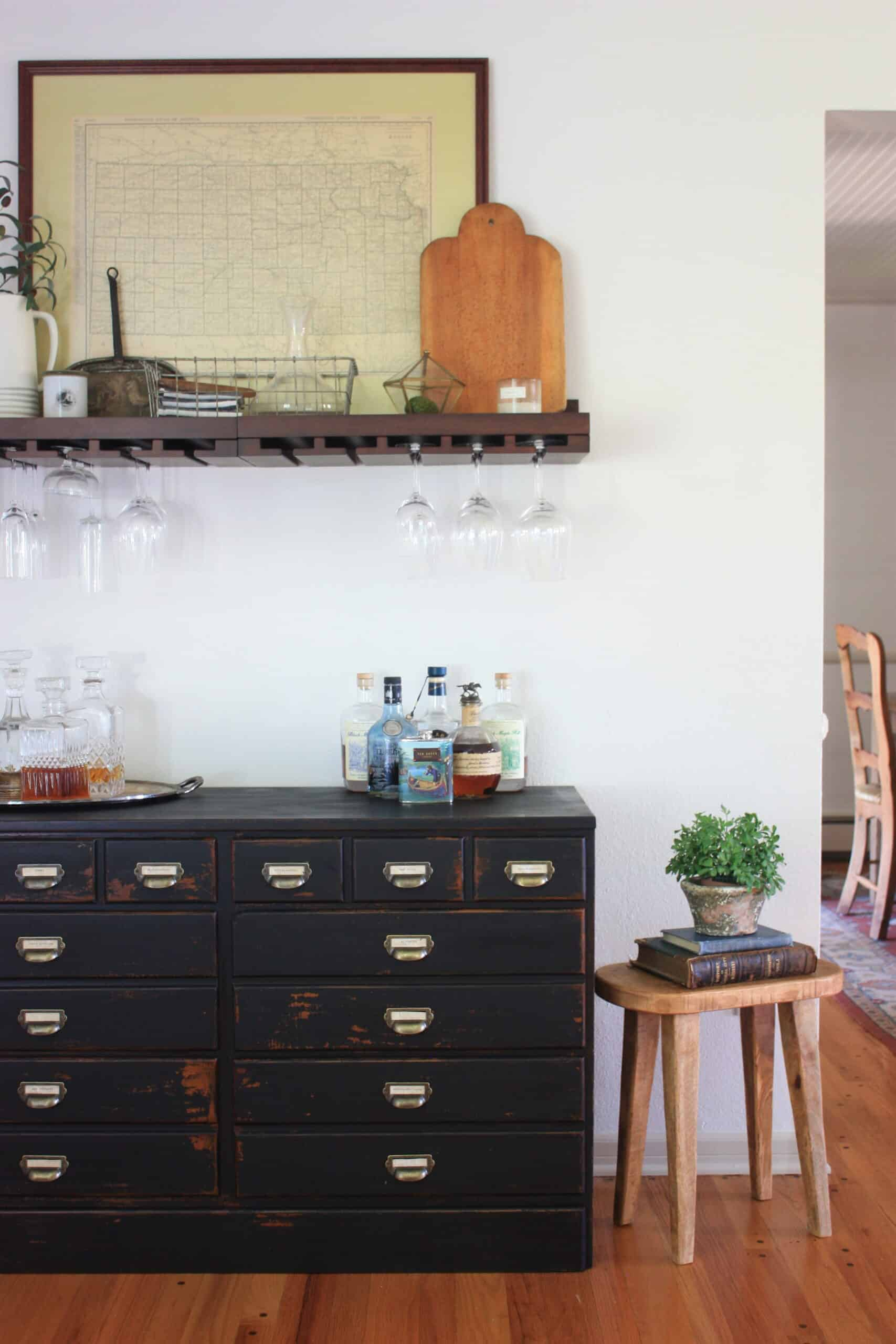 Apothecary Chest Diy Transform A Goodwill Dresser For Under 30