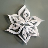 How to Make Giant Paper Snowflakes: Step by Step Photo Tutorial