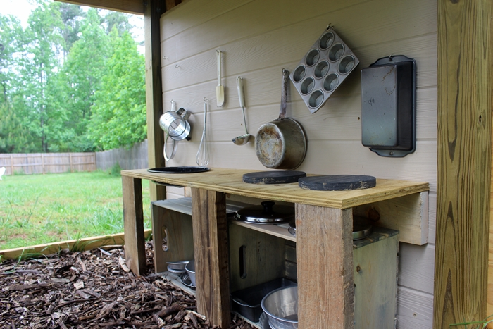 backyard play kitchen