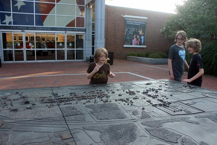 Williamsburg visitor's center