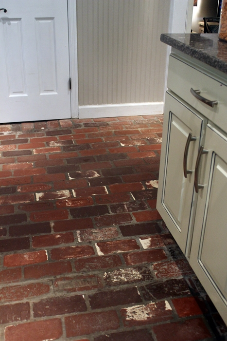 antique brick floors